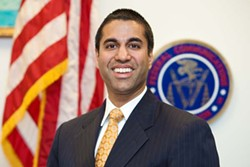 Federal Communications Commission Chairman Ajit Pai rolled back regulations on television station ownership. (Federal Communications Commission / provided)
