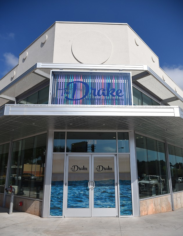 The Drake, 519 NW 23rd, prepares to open.  mh