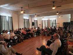 Ralph Ellison Foundation's In the Light Bulb Room discussion series provides inclusive spaces for open dialogue. | Photo Ralph Ellison Foundation / provided