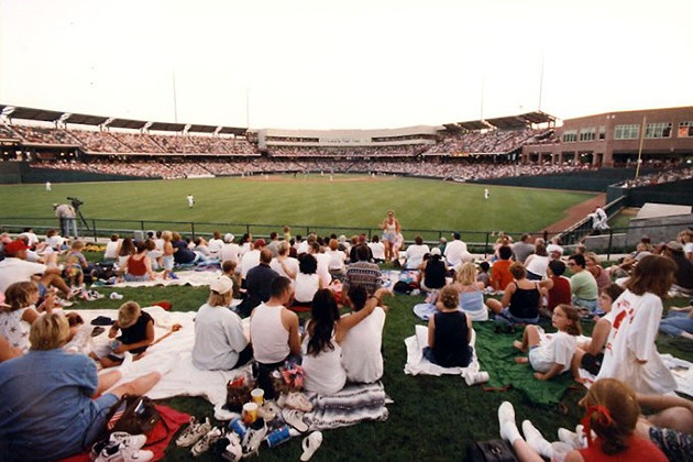 Capacity crowds welcomed Bricktown Ballpark's completion 20 years ago as the first completed MAPS project in downtown Oklahoma City. (Oklahoma City Dodgers / provided / file)