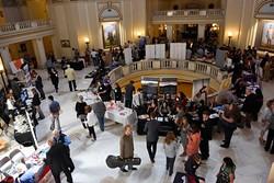 Organizations gather at Oklahoma Arts Day 2016 at the Oklahoma State Capitol, Wednesday, May 4, 2016. - GARETT FISBECK
