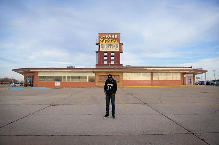 Ronnie Johnson (Grand National) poses for a photo at the Park Estates Shopping Center, Monday, Jan. 9, 2017. - GARETT FISBECK