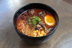 Spicy miso ramen at Gor? Ramen + Izakaya Thursday, Feb. 16, 2017. - GARETT FISBECK