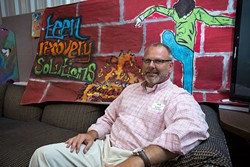 Mike Maddox , Clinical Director at Teen Recovery Solutions poses for a photo at Oklahoma City, Wednesday, June 8, 2016. - EMMY VERDIN