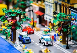 A LEGO display at the LEGO BrickUniverse fan convention on Saturday, June 11, 2016 at Plano Centre in Plano, Texas. - ASHLEY LANDIS/THE DALLAS MORNING NEWS