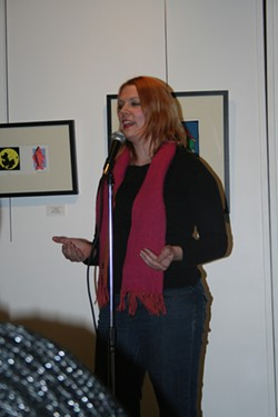 Founder Molly O'Connor began StorySLAM in 2005 as a monthly storytelling event. (Photo OKC StorySLAM / provided)