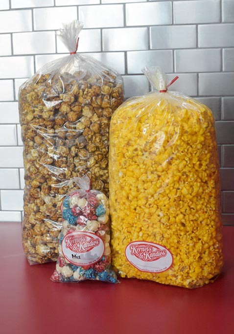 Popcorn at Kernels & Kandies. (Garett Fisbeck)