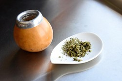 Yerba Maté tea at Urban Tea House, Wednesday, May 11, 2016. - GARETT FISBECK
