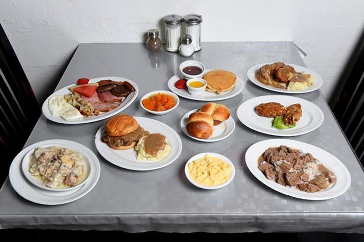 Various menu items at Florence's Restaurant in Oklahoma City, Thursday, March 3, 2016. - GARETT FISBECK