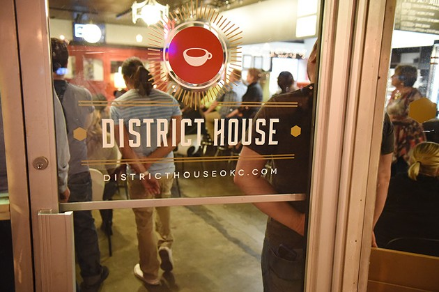 District House, the 16th Street Plaza District's coffee joint, fills up with those seeking a cup of coffee or during performances or events. (Photo Gazette/file)