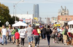 Thousands of local families flocked to Open Streets OKC in south Oklahoma City last year. | Photo Steven Christy / OCCHD Prodigal / provided