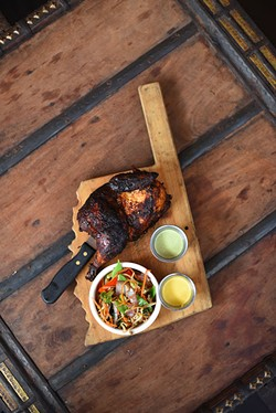 Pollo a la brasa is the national dish of Peru and serves as the namesake of La Brasa. | Photo Garett Fisbeck / file
