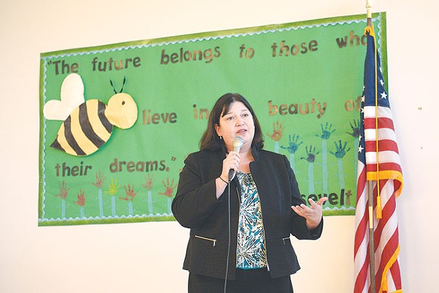 The Oklahoma City Public Schools Board of Education named Aurora Lora superintendent in July 2016. Eighteen months later, Lora submitted her resignation. | Photo Gazette / file