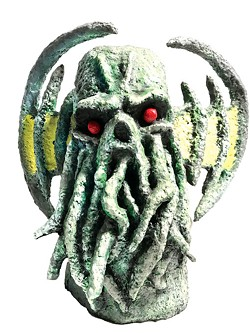 A Cthulu sculpture by Harold Neal | Photo provided