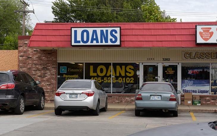 B&R Finance is one of the metro's 185 supervised lenders. (Garett Fisbeck)