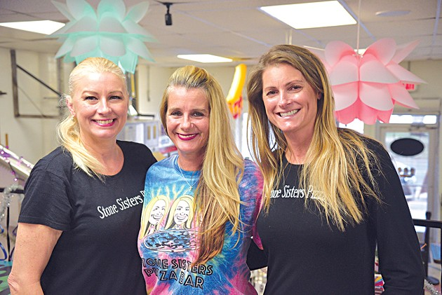 Sisters Traci Stone, Tami Lake and Sheli Reynolds opened Stone Sisters Pizza Bar in May. (Jacob Threadgill)