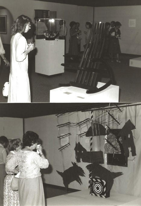 OVAC's 1988 VisionMakers art show | Photo Oklahoma Visual Arts Coalition / provided