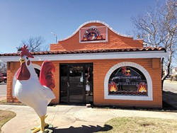 The El Primo Loco on S. Western Avenue features a drive-thru window. (Photo Jacob Threadgill)