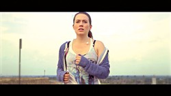 """Lindsay Fritts as Molly in the Mono short film """"Pivotal."""" 