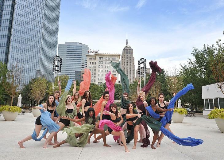 RACE's female dance team | Photo provided