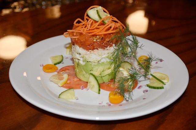 Tuna tower is a new menu item at McClintock Saloon (Photo Jacob Threadgill)