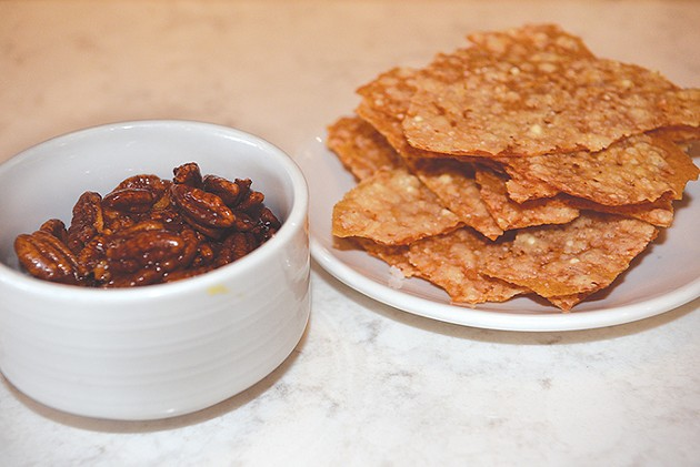 Candied Oklahoma pecans and CRACKers | Photo Jacob Threadgill
