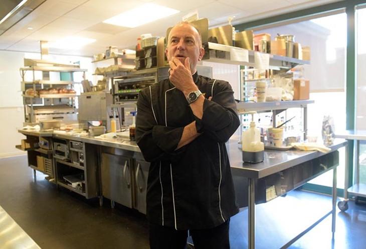 Scott Uehlein, Vice President of Product Development, gives a tour of Sonic's test kitchen, Monday, June 26, 2017. (Garett Fisbeck)
