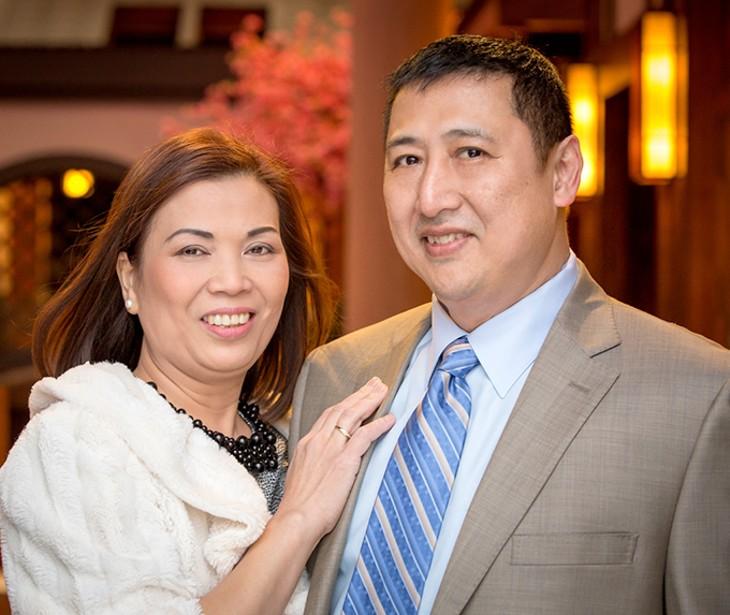 Kim and Pak Kwan (Photo provided)