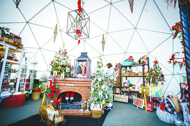 Holiday Pop-Up Shops features 45 local businesses Thursdays-Sundays between Nov. 24 and Dec. 23. | Photo Holiday Pop-Up Shops / provided