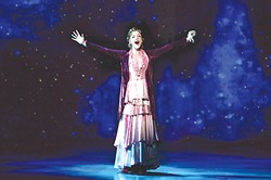 Lael Van Keuren stars as Sylvia Llewellyn Davies in the touring Broadway musical Finding Neverland. | Photo Jeremy Daniel / provided