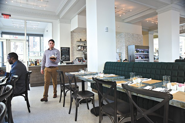 The interior at Kitchen No. 324 is highlighted by tons of natural light (Photo Gazette / file)