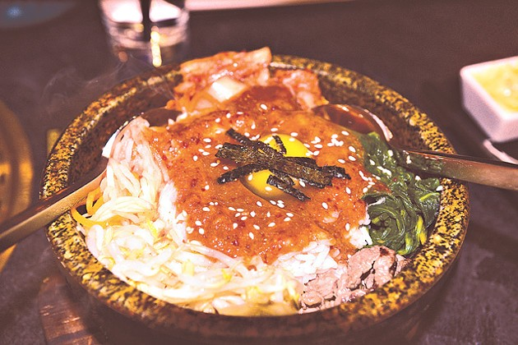 Korean dishes like bibimbap are also on Wagyu's menu. (Photo Jacob Threadgill)