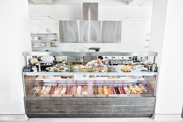 Kitchen No. 324 puts an onus on fresh and local produce. (Photo Gazette / file)