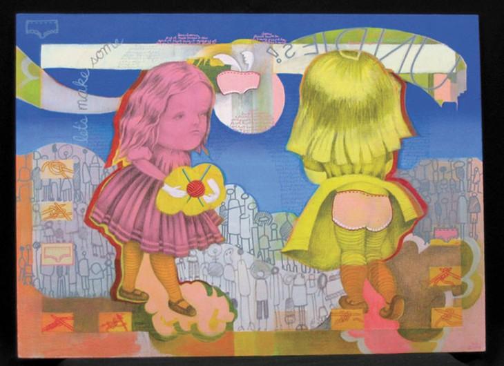 """Undies"" by Sarah Atlee in 2007's Art 365 show | Photo Oklahoma Visual Arts Coalition / provided"