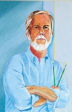 """Self-portrait"" by Steve Hicks   Image provided"