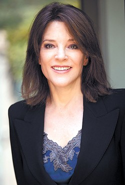 Author and spiritual leader Marianne Williamson will speak at a public lecture on the University of Central Oklahoma campus Sunday.  (Photo provided)