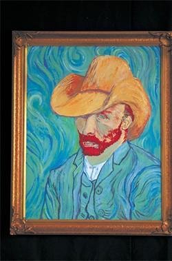 """Okie van Gogh"" by Steve Hicks   Image provided"