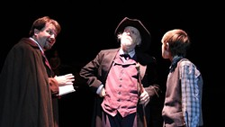 Jones Ong center has portrayed Ebenezer Scrooge in the Oklahoma-adapted version of A Territorial Chrismas Carol for the better part of two decades.   Photo provided