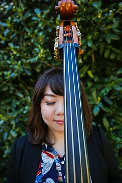 Rei Wang began learning classical bass at age 9 in Taiwan but didn't start her formal jazz education until after earning her undergraduate degree. (Photo Song Schuler / provided)