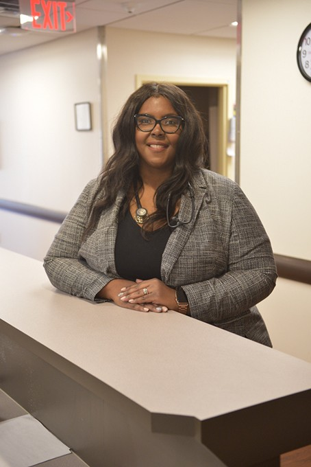 Sheleatha Taylor-Bristow practices family medicine at Spencer's Mary Mahoney Memorial Health Center. She completed the Oklahoma Medical Loan Repayment program funded by TSET. (Photo Laura Eastes)