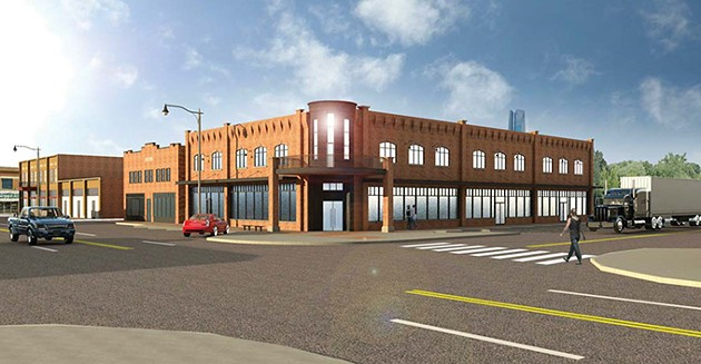 Rodeo Cinema will house two screens in a newly constructed building on the corner of SW 13th Street and S. Agnew Avenue. The building is scheduled for completion sometime around March 2019. - RODEO CINEMA / PROVIDED