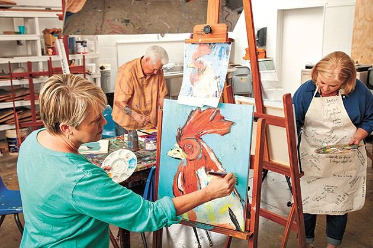 Allied Arts supports education programs at organizations like Oklahoma Contemporary Art Center and Firehouse Art Center. - ALLIED ARTS / PROVIDED