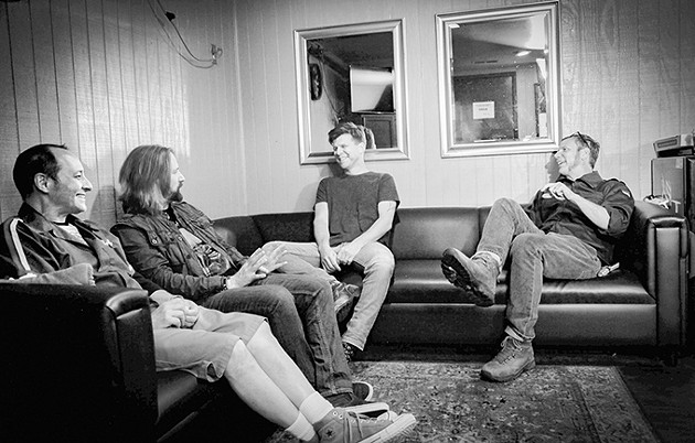 The Nixons' Zac Maloy (center right) founded Oklahoma Songwriter's Festival in 2016. He will be joined on stage by several band members during the fest's Songwriter Showcase 7 p.m. April 14. - MONSON PHOTOGRAPHY / PROVIDED