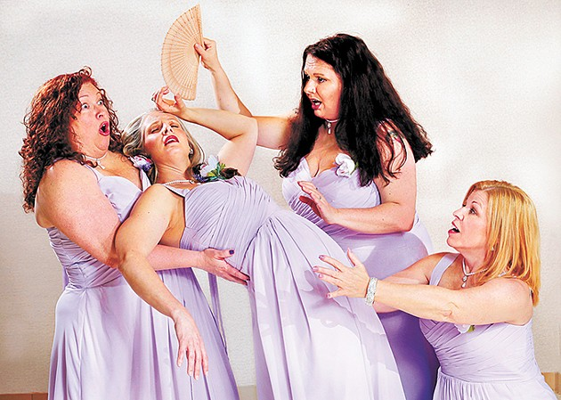 Always a Bridesmaid follows the relationship of - four friends from prom through all of their weddings. - JIM BECKEL / JEWEL BOX THEATRE / PROVIDED