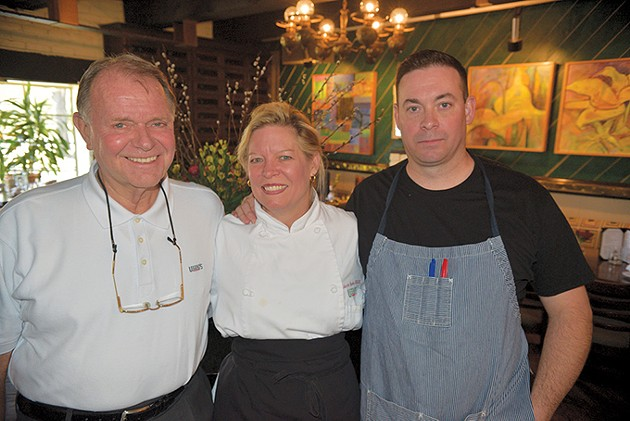 Joe and Rebecca Sparks, along with chef Benjamin Spears, are the driving forces behind Legend's. - JACOB THREADGILL