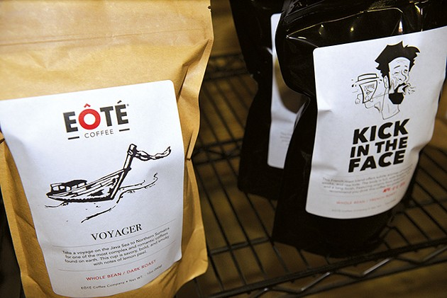 EÔTÉ  Coffee currently has 10 varieties of coffee available for wholesale at more than 30 retail locations. - JACOB THREADGILL