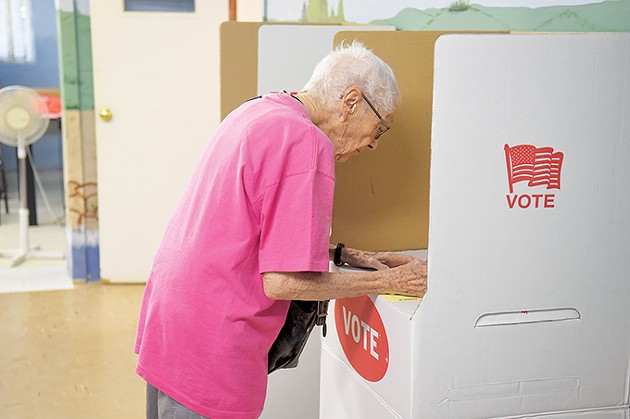 Voter turnout in Oklahoma's 2014 gubernatorial election was the lowest in at least 25 years. Early signs seem to indicate stronger turnout in 2018. - GAZETTE / FILE