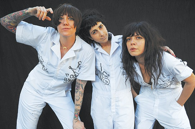 The Coathangers play at 89th Street - OKC on Sunday. - JEFF FORNEY / PROVIDED