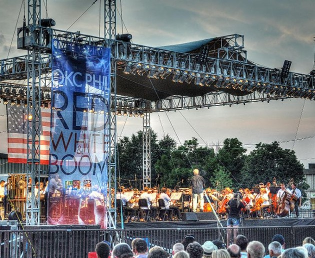 Red, White, and Boom!, a concert by Oklahoma City Philharmonic, begins 8:30 p.m. Tuesday at State Fair Park. - PROVIDED