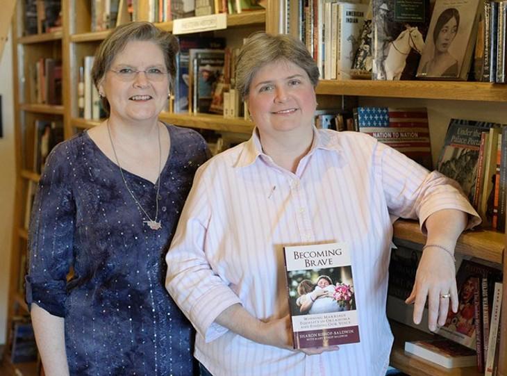 Sharon and Mary Bishop-Baldwin - PROVIDED